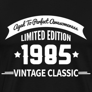 Birthday 1985 Vintage Classic Aged To Perfection - Men's Premium T-Shirt