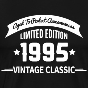Birthday 1995 Vintage Classic Aged To Perfection - Men's Premium T-Shirt