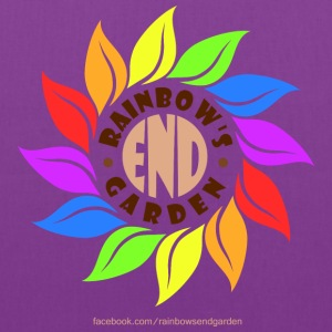 Rainbow's End Garden Tote - Tote Bag