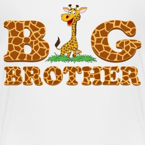 Giraffe Big Brother Kids' Shirts - Kids' Premium T-Shirt