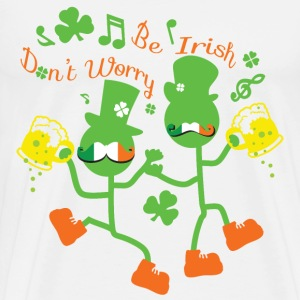 Be Irish st.paddy's Men's Premium T-Shirt - Men's Premium T-Shirt