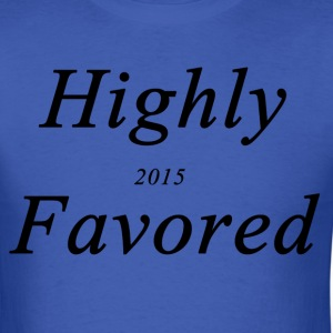 highly favored - Men's T-Shirt
