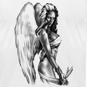 Hot Angel T-Shirts - Men's T-Shirt by American Apparel