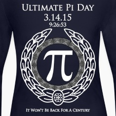 Ultimate Pi Day 3.14.15 9:26:53 WTXT Women's Long