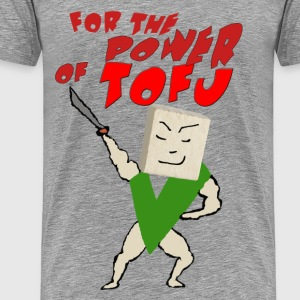 FOR THE POWER OF TOFU - Men's Premium T-Shirt