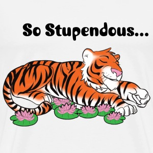 tiger3 small copy.png T-Shirts - Men's Premium T-Shirt