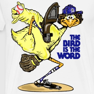 The Bird is the Word T-Shirts - Men's Premium T-Shirt