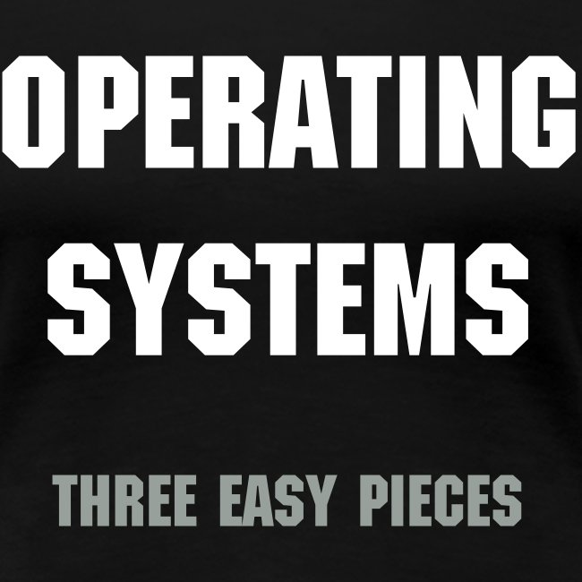 Operating Systems: Three Easy Pieces Women's T-shirt