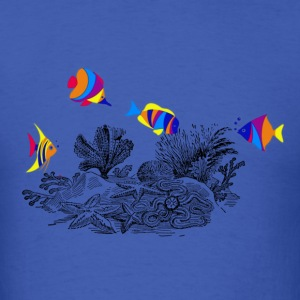 Fishies - Men's T-Shirt