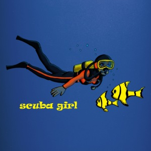 SCUBA girl - Full Color Mug