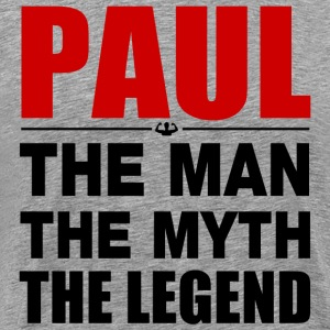 Paul Man Myth Legend T-Shirts - Men's Premium T-Shirt