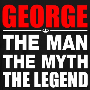 George Man Myth Legend T-Shirts - Men's Premium T-Shirt
