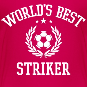 World's Best Striker Kids' Shirts - Kids' Premium T-Shirt