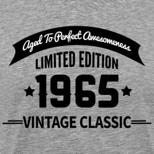 Birthday 1965 Vintage Classic Aged To Perfection - Men's Premium T-Shirt