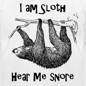 Sloth - Men's T-Shirt by American Apparel