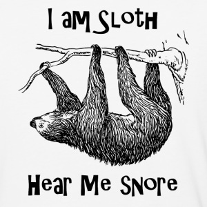 Sloth - Baseball T-Shirt