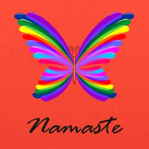 Namaste butterly - Tote Bag