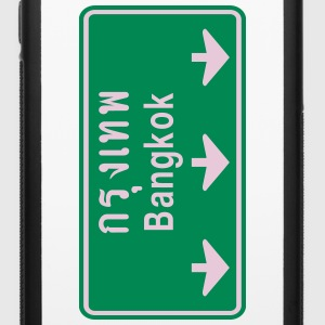 Bangkok Ahead ~ Watch Out! Thailand Traffic Sign - iPhone 6/6s Rubber Case