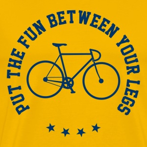 Funny Cycling Quotes T-Shirts - Men's Premium T-Shirt