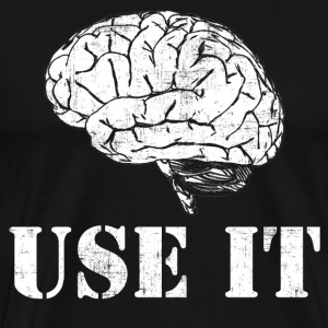 Brain Use It T-Shirts - Men's Premium T-Shirt
