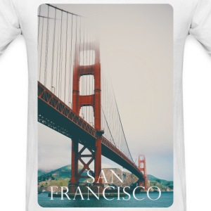 San Francisco Vibes T-Shirts - Men's T-Shirt