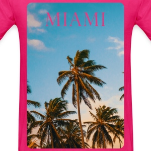 Miami Vibes T-Shirts - Men's T-Shirt