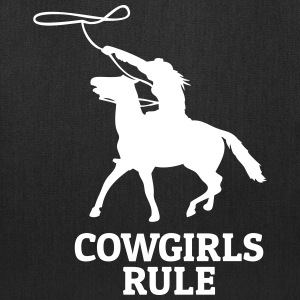Cowgirls rule Bags & backpacks - Tote Bag