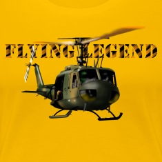 helicopter huey Women's T-Shirts