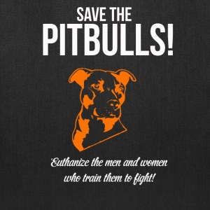 save pitbulls Bags & backpacks - Tote Bag