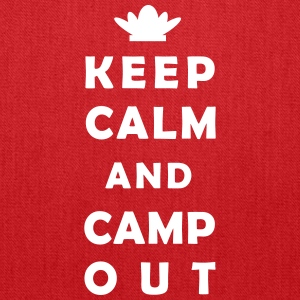 keep calm camping Bags & backpacks - Tote Bag
