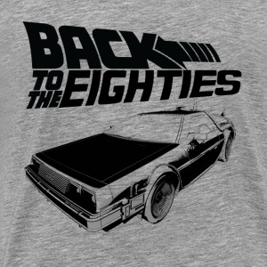 Back to the Eighties - Men's Premium T-Shirt