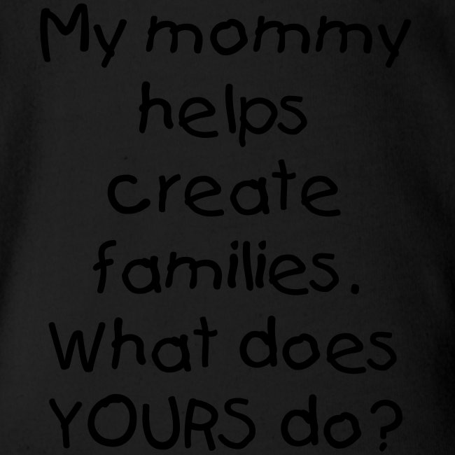 My Mommy Creates Families