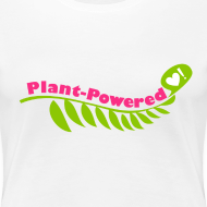 Design ~ Women's Plant-Powered White T-Shirt