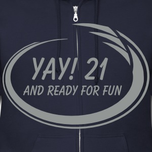 Yay! 21 Fun Zip Hoodies & Jackets - Men's Zip Hoodie