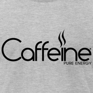 Caffeine Black - Men's T-Shirt by American Apparel