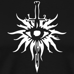 Inquisition Symbol Shirt (White & Black) - Men's Premium T-Shirt