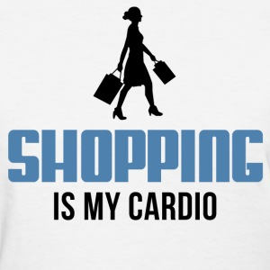 Shopping Is My Cardio Women's T-Shirts - Women's T-Shirt