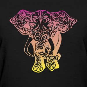 cute elephant spectrum - Women's T-Shirt