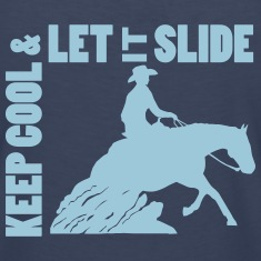 Keep cool & Let it slide Women's T-Shirts