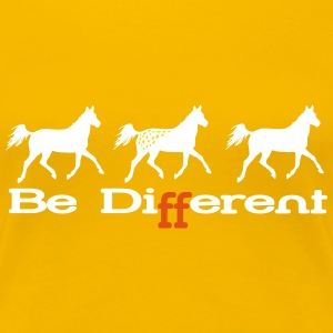 Be Different - Appaloosa Women's T-Shirts - Women's Premium T-Shirt