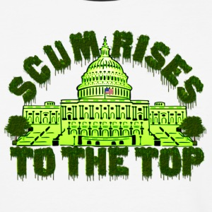 Scum Rises To The Top Shirt - Baseball T-Shirt