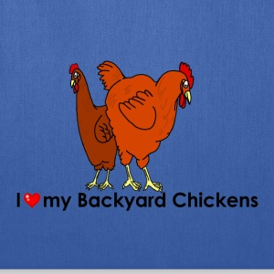 I Heart My Backyard Chickens - Tote Bag
