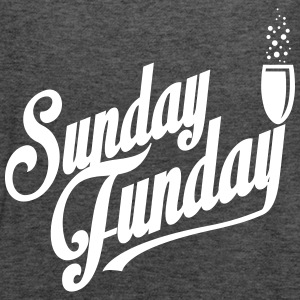 I love Sunday Funday Tanks - Women's Flowy Tank Top by Bella