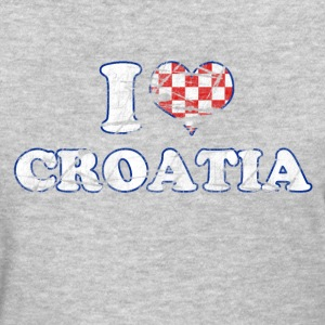 I LOVE CROATIA - Women's T-Shirt