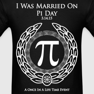 I Was Married On Pi Day Men's T-Shirt - Men's T-Shirt