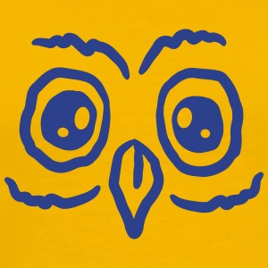 Sweet owl face T-Shirts - Men's Premium T-Shirt