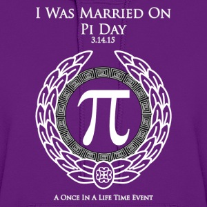 I Was Married On Pi Day Women's Hoodie - Women's Hoodie
