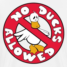 No Ducks Allowed Tee