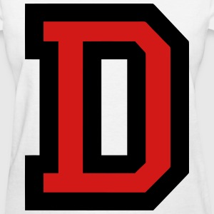 Letter D Filled - Women's T-Shirt