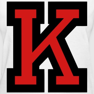 Letter K Filled - Women's T-Shirt